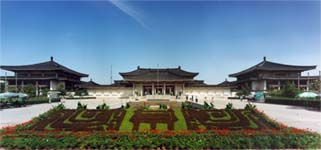 the shaanxi history museum, one of the best in China