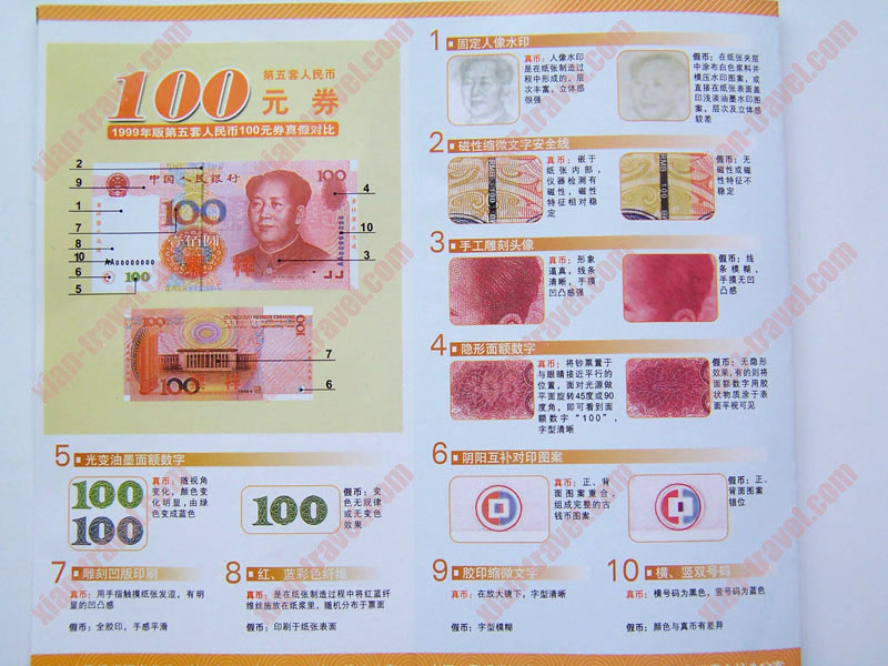 Beware of fake Chinese money!
